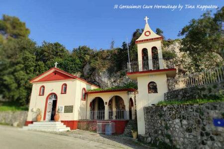 The Cave Hermitage Saint Gerasimos